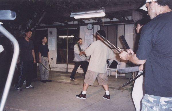2004 Los Angeles Baat Chum Do in Sifu Lam's Backyard