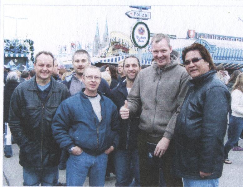 2008 Oktoberfest München, M.Hauke, P.Hufnagl, U.Stauner, M.Ehlen, F.Sänger, Gary