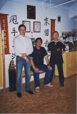 2011 Dachau Sifu J. Harlander, Master Gary Lam, Sifu Uli Stauner