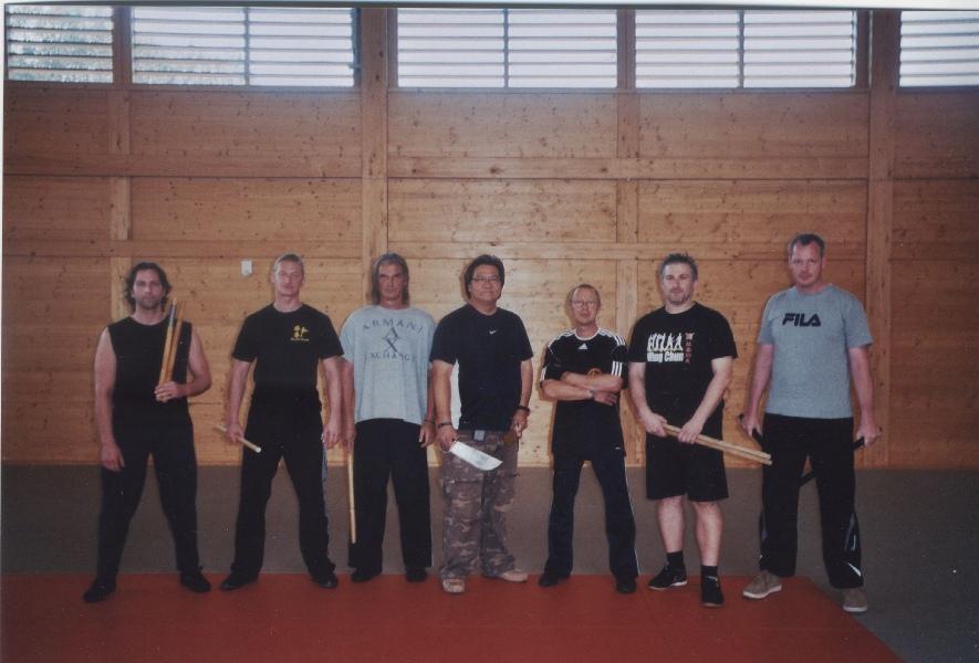 2011 Wels Österreich, Die europäischen Level three - Meister von Master Gary Lam