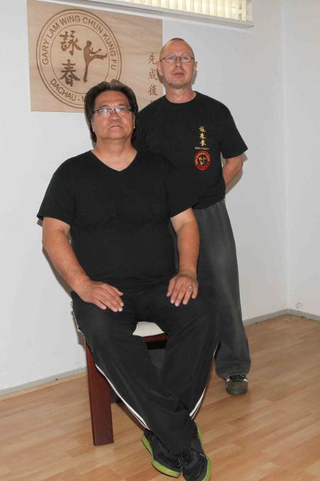 2014 Dachau Master Uli Stauner and Grandmaster Gary Lam