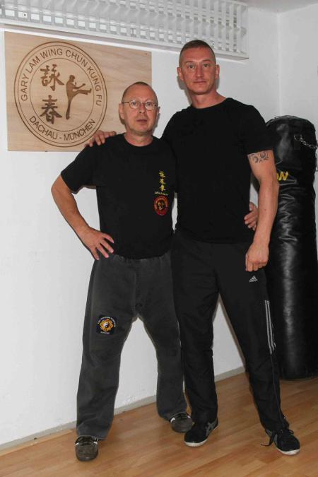 2014 Dachau mein KungFu Bruder Kemal zu Besuch